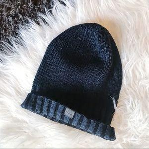 BENCH | Winter Hat Toque Beanie Navy Merino Wool
